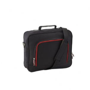 "Black 13"" Messenger Laptop Shoulder Bag"
